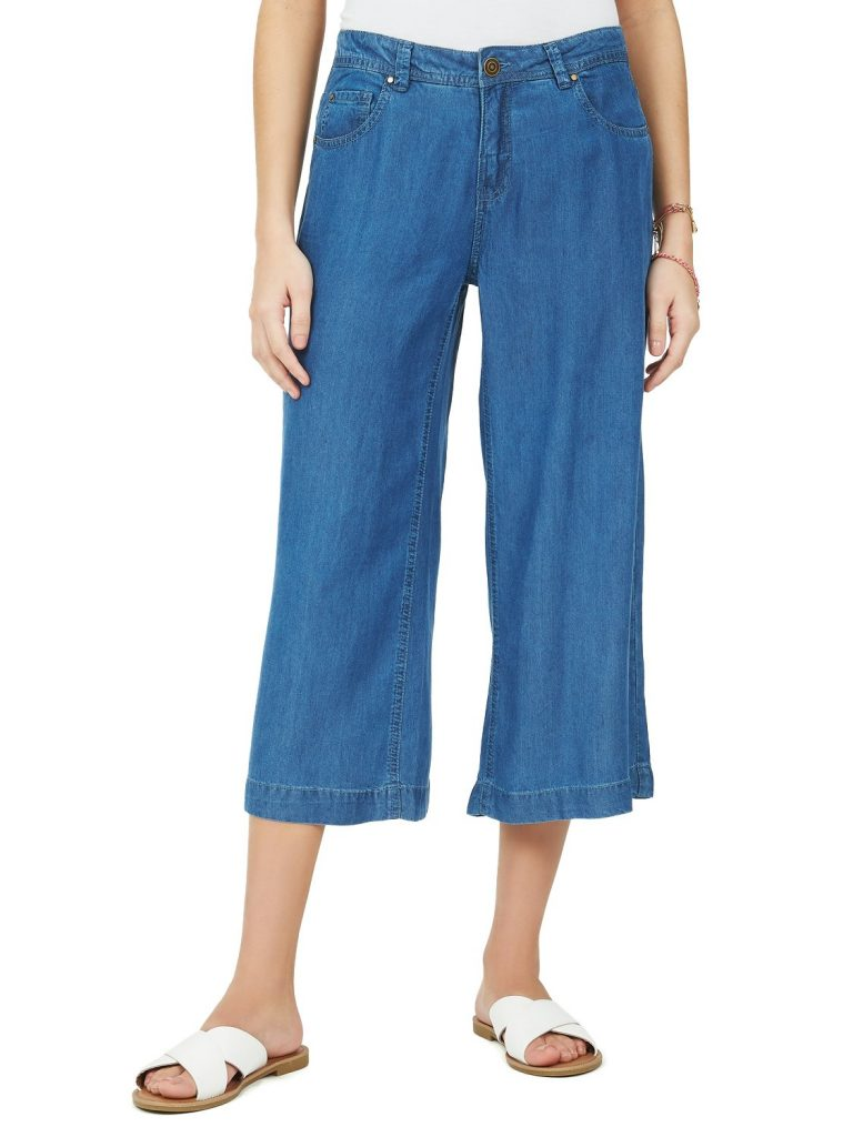 denim guacho pants