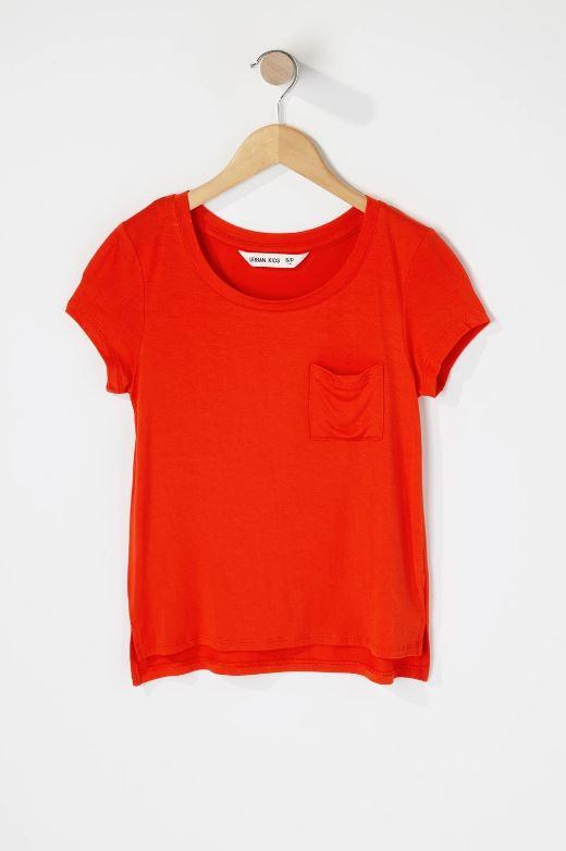 girls pocket t-shirt