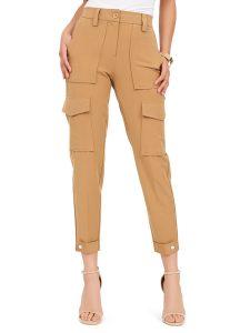 high waist cargo pants