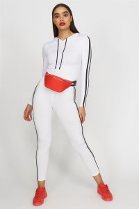 side striped jogger