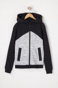 zip up hooded sweater