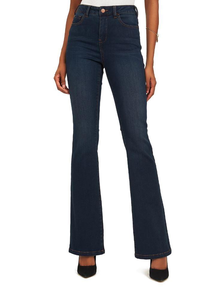 bootcut denim jeans