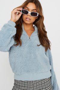 half zip pullover sweater