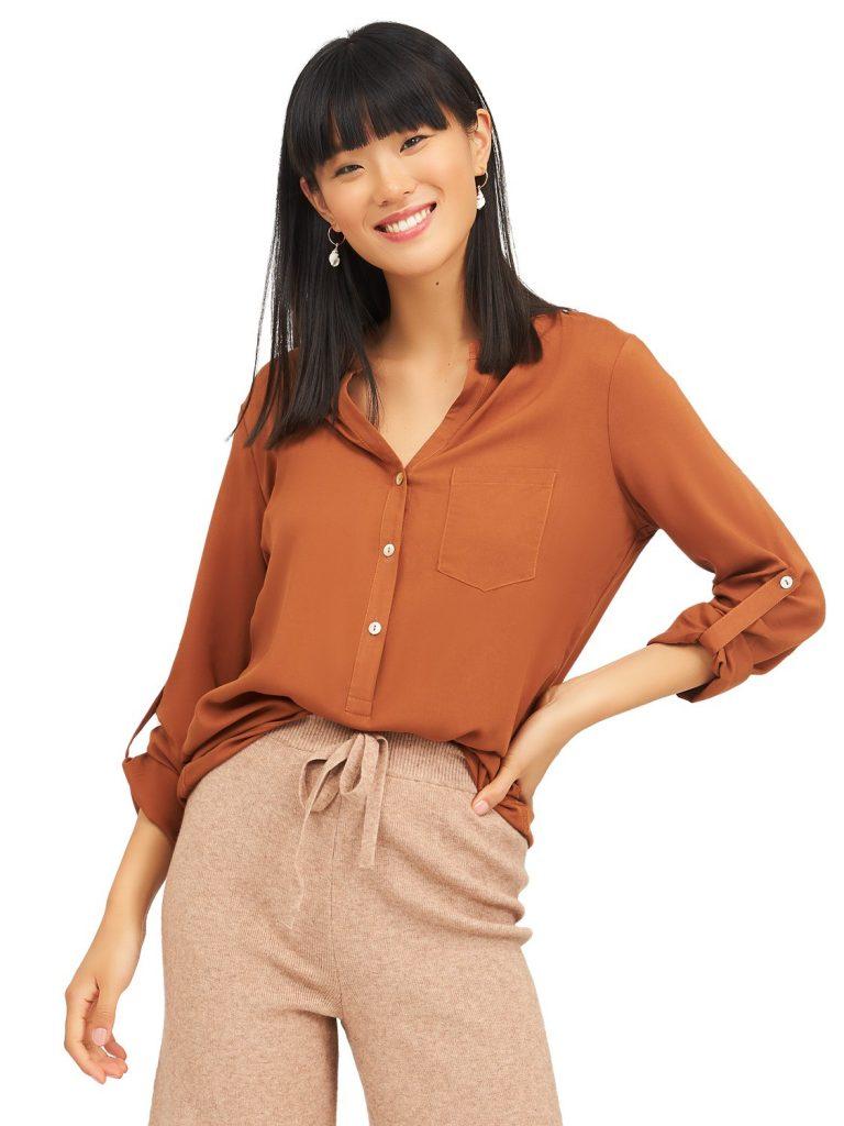 neuro collar blouse