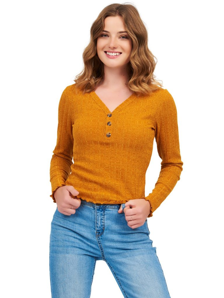 rib sweater top