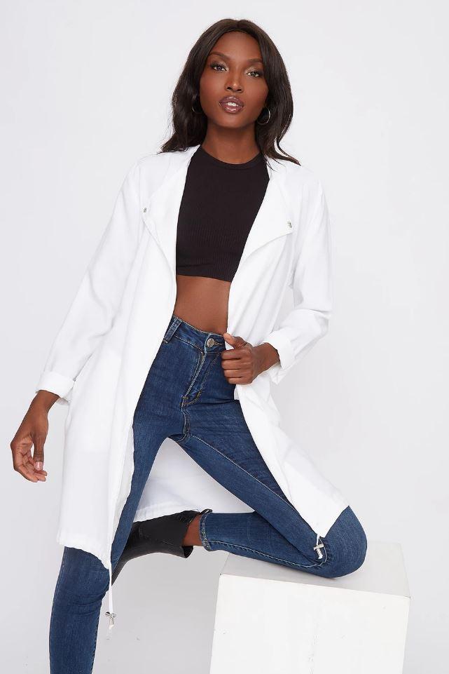 self belt jacket