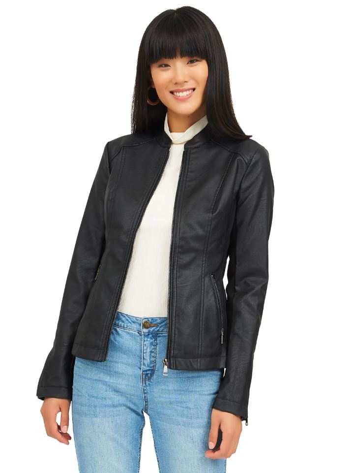 side ribbed jacket