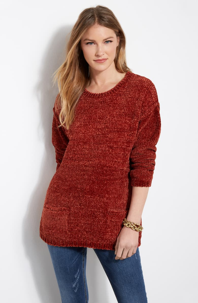 Nordstrom chenille sweater $119.00