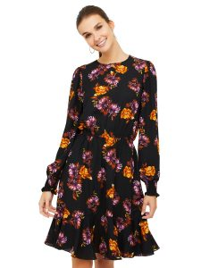 SZ floral printed dress $49.00