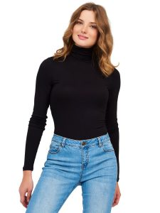 SZ jersey turtleneck $18.00