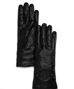 Tory Burch leather gloves $178.00