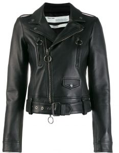 farfetch belted leather jacket $2,720