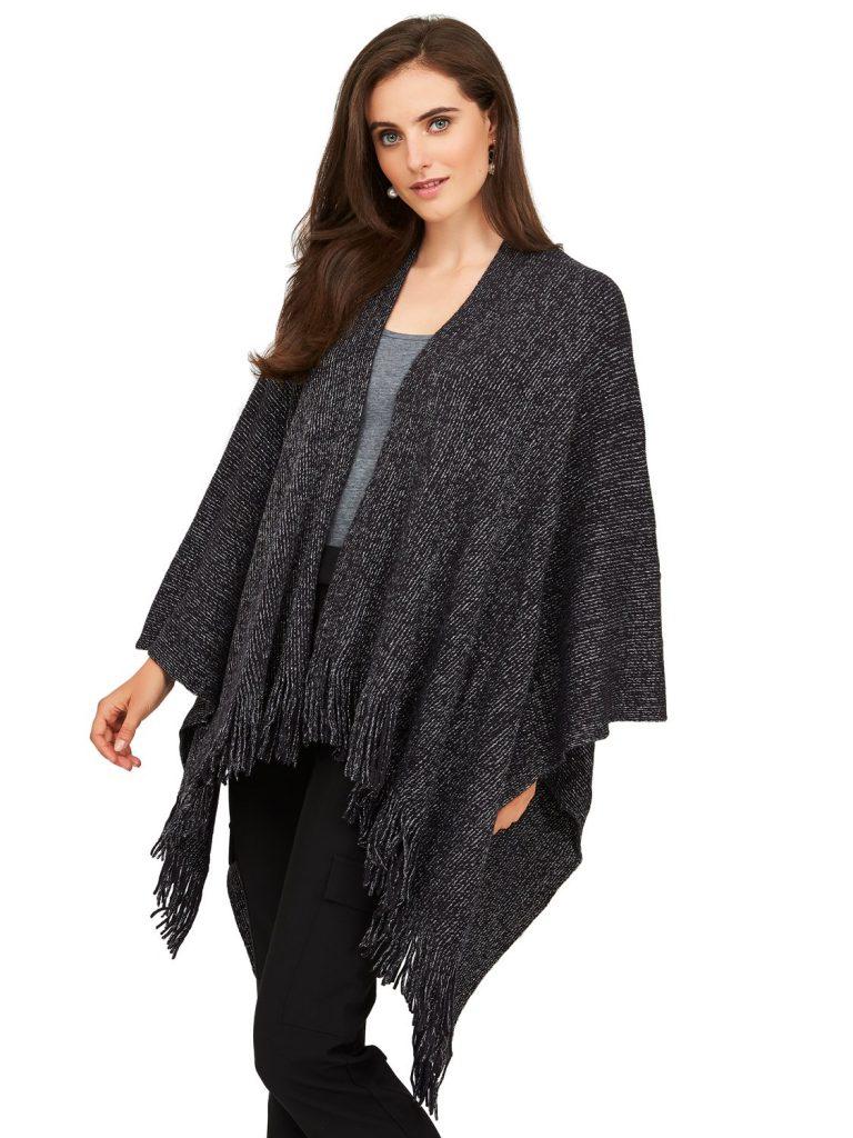 knit cape