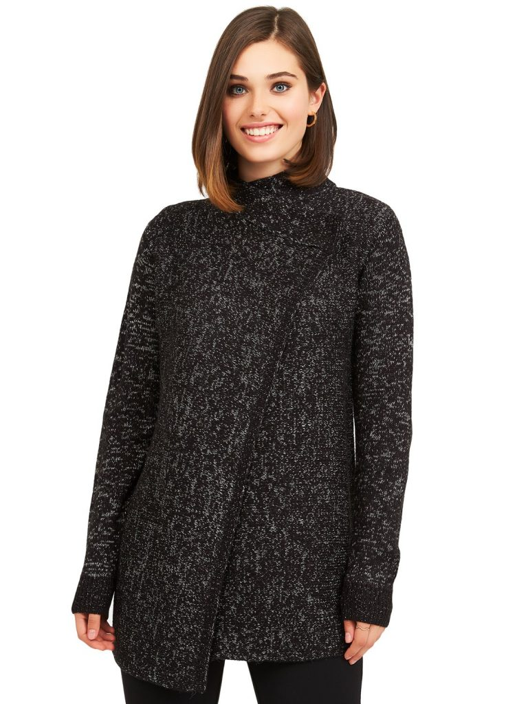 knit sweater duster