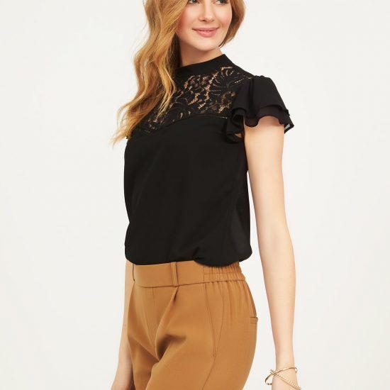 neck lace blouse
