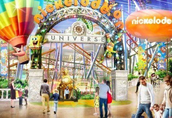 nickelodeon theme park