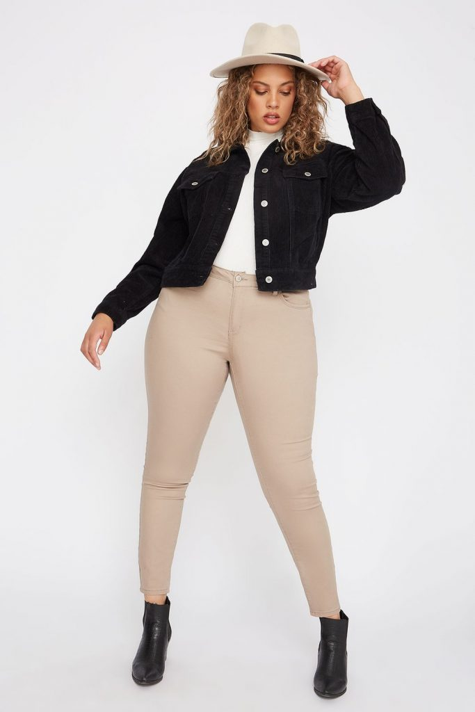 plus-size skinny jean