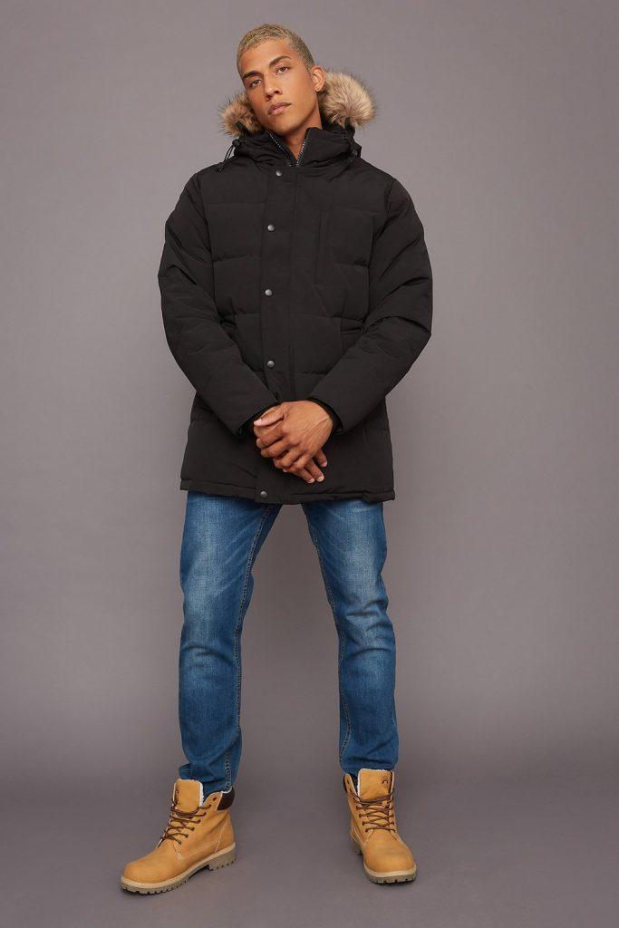 puffer parka jacket