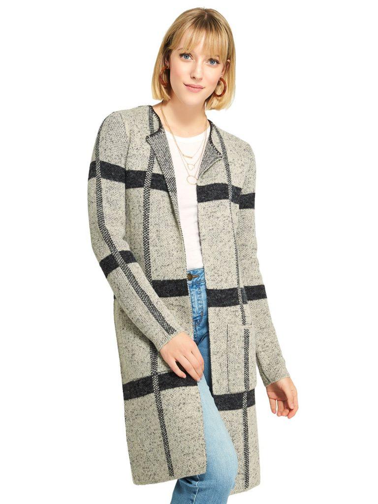 sweater coatigan