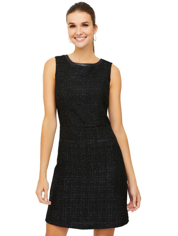tonal a-line dress