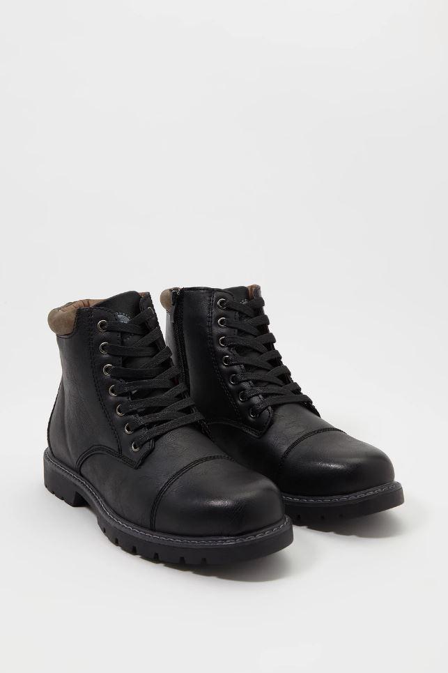 zip combat boots