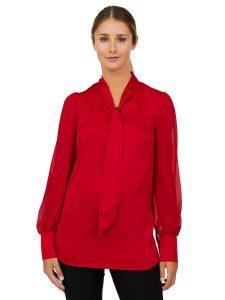 satin blouse UP 34.00
