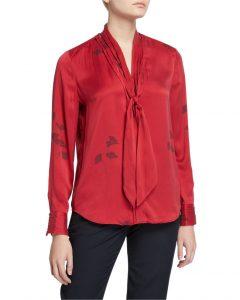 silk blouse neiman marcus 325.00