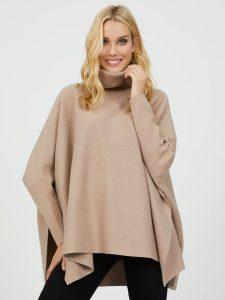 sweater knit poncho SZ 49.00